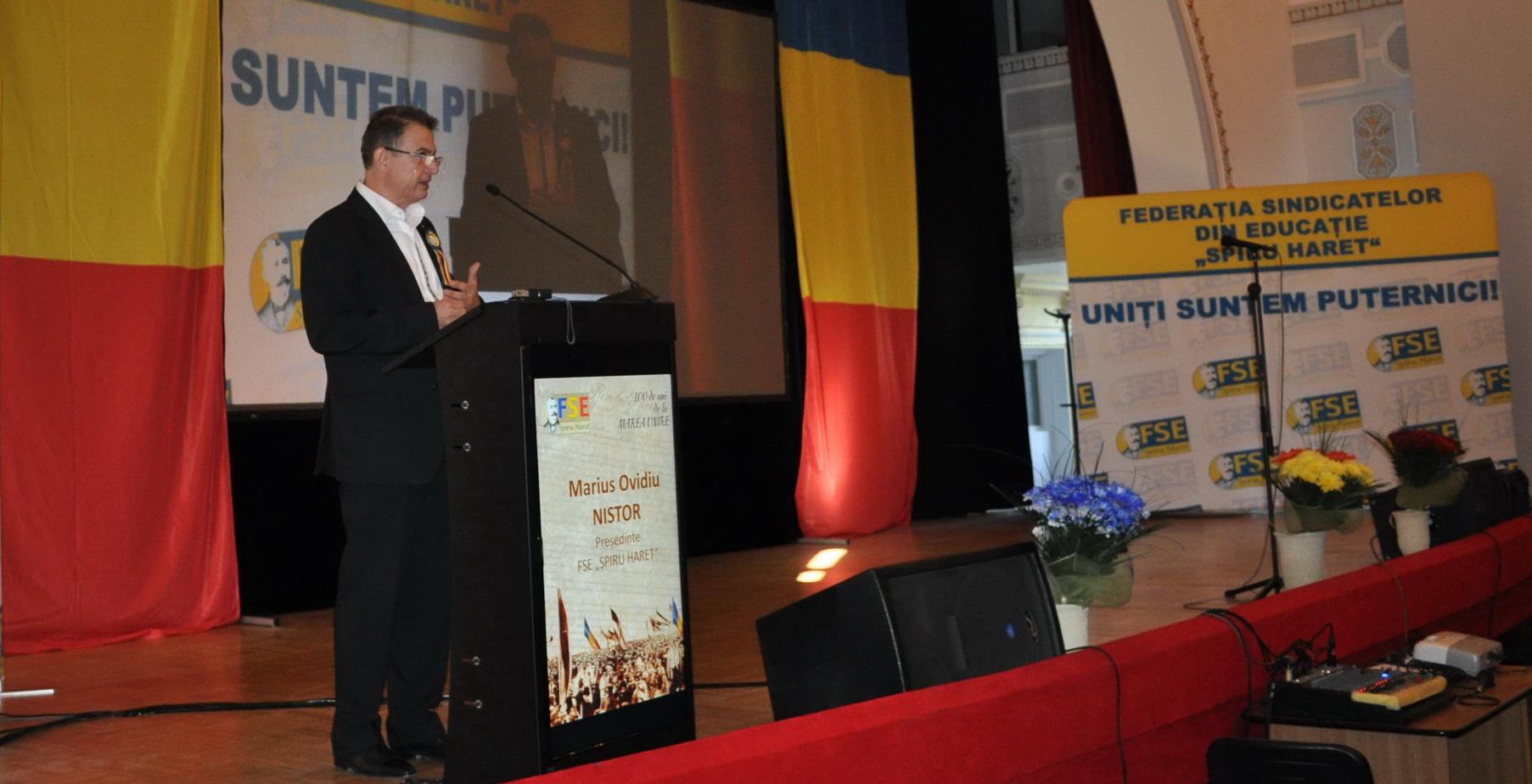 Actiune 5 octombrie 2018 – Contribuția Educației la dezvoltarea României moderne